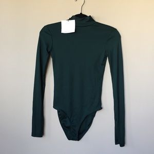 Forest green bodysuit
